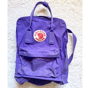 Fjallraven Kanken Purple backpack